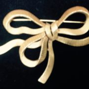 Trifari Bow Brooch
