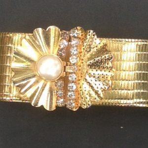 Vintage metal bracelet 01